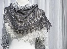 Ravelry: Love on the Edge pattern by Monique Boonstra, exp lace pattern no rest rows $7