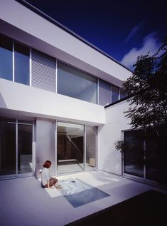 NRM architects office: house with tiny pool - designboom | architecture