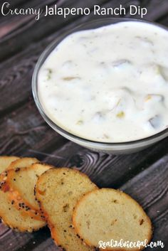 So creamy and tasty jalapeno ranch dip recipe