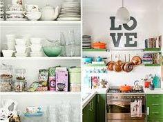 open kitchen shelving - Google Search