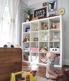 Más Expedit de Ikea en habitaciones infantiles: 5 ejemplos : Baby-Deco