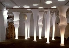 Gisela Stromeyer Design : Fabric Sculptures