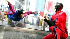 Indoor Skydiving at iFly SF Bays Vertical Wind Tunnel