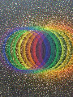 "artruby: ""Julio Le Parc at Galerie Perrotin. """