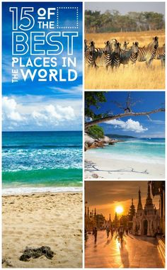 We reveal 15 of the best places to go in the world next including Botswana, Myanmar, Puerto Rico and the Seychelles.