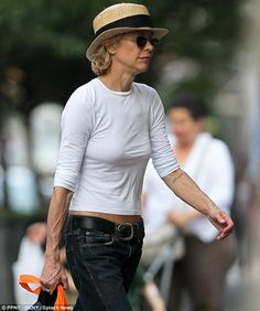 Meg Ryan's arms. It's kind of sad that seeing her look so desperate makes me feel better about my own body.