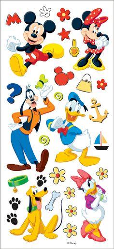 We R Memory Keepers disney stickers   Trends International - Disney Stickers/Borders Packaged - Mickey ...