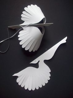 Captivating LorenzKraft Pretty Bird Carton Diy, 3d Paper, Paper Drawing, Paper Birds,  Paper