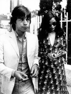 mick and bianca, early 70s