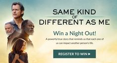 Register to win a night%out from PureFlix.com