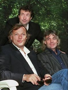 David Gilmour, Nick Mason & Richard Wright | Pink Floyd