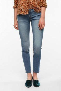 BDG Cigarette Mid-Rise Jean - Light Denim  #UrbanOutfitters