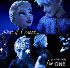 Assignment #4; My second ship; I love the thought of Jack Frost and Elsa!  They r so similar and they have so equal of powers! Elsa just wanted to feel and Jack just wanted to be felt! If your put them together Elsa makes Jack be felt with love,  and Jack can make Elsa feel love because Jack loves her so much! ITS A PERFECT MATCH!