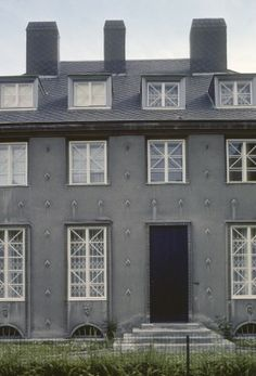 Josef Hoffmann, Villa Sonja Knips, 1923-1924, Nußwaldgasse 22, Vienna