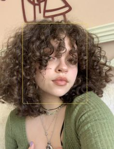 Haircuts For Curly Hair, Curly Hair Cuts, Curly Hair Styles, Natural Hair Styles, Aesthetic Hair, Dream Hair, Pretty Hairstyles, Hair Looks, Hair Type