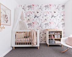 Baby Room Design, Baby Room Decor, Nursery Room, Bedroom Decor, Nursery Furniture, Girl Nursery, Nursery Ideas, Room Ideas, Girl Room