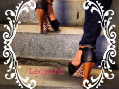 Shoe Bottoms: Leopard  Do you have a pair of basic pumps you want to dress up with a pop of color or print! These Vinyl adhesives do just that!! They are easy to apply to the bottom of the shoe and last as long as needed. They are also easily removed but can only be used once.     *Each package comes with a pair of Beautiful Bottoms vinyl adhesive along with instructions on how to apply.