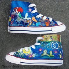 Hey, I found this really awesome Etsy listing at https://www.etsy.com/listing/127146980/disney-princess-shoes