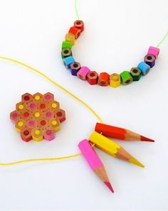 DIY Pencils Jewelry
