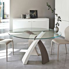 ELISEO ROUND DINING TABLE - Tricolor   Home Design HD