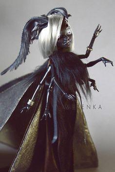 Motte Ooak Monster high Puppe von Melenka
