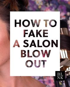 hair beauty - How to Fake a Salon Blow Out blinkbeauty hairtutorials blowout hairblowouttricks EyeMakeupTips Blowout Hair Tutorial, Hair Tutorial Videos, Hair Mask For Damaged Hair, Diy Hair Mask, 4c Hair, Thin Hair, Diy Hairstyles, Pretty Hairstyles, Hairdos