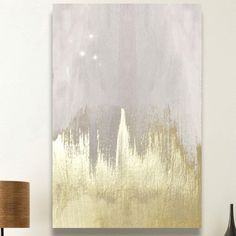 Offwhite Starry Night Painting Print on Wrapped Canvas | Wayfair.ca