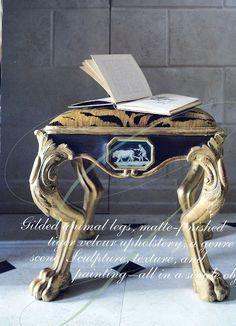 Amy Howard Daily: Classic Gilded Furniture #diy #amyhowardathome #gilding