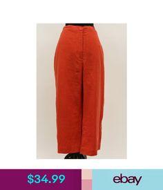 b6587766e27 Pants Flax Bold 2015 Linen Pocket Gaucho Cropped Sunny Pant Tomato Soup  Plus Size 1G