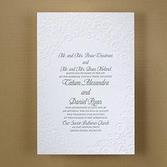 Stylish Soiree - Invitation      40% OFF     http://mediaplus.carlsoncraft.com/Wedding/Wedding-Invitations/3124-BS31233-Stylish-Soiree--Invitation.pro