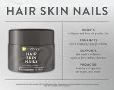 Hair Skin and Nails is one of my all time favorite products. Be a more radiant, youthful looking you with support for stronger nails, softer and smoother skin, and shine-worthy hair! It Works Global, My It Works, It Works Distributor, Independent Distributor, Damaged Nails, Crazy Wrap Thing, Grow Long Hair, Grow Hair, Strong Nails