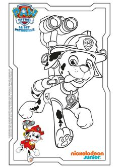 Paw Patrol Coloring Pages, Baby Coloring Pages, Quote Coloring Pages, Cartoon Coloring Pages, Coloring Books, Rubble Paw Patrol, Paw Patrol Party, Paw Patrol Weihnachten, Logo Character