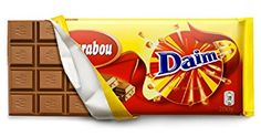 Brand stretching, Marabou milk chocolate combined with Daim crunchy bits