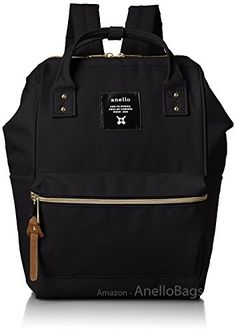 947f3f7f89142c Best Seller Anello Japan Anello Backpack Unisex MINI SMALL BLACK Rucksack  Waterproof Canvas Campus Bag online