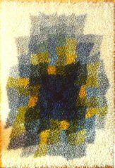 Rya Rug, Wall Hangings, Needlepoint, Textiles, Rugs, Diy, Painting, Ideas, Home Decor