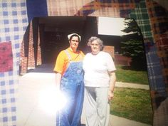 """I am grateful for the time i got to spend with my mom..This is one of several final shots before she passed away..This was taken on her 64th birthday in Warrensburg NY May 2001..  ......Love and miss you.......Natalie from Az submitted on 26 June, 2012"