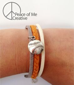 Layered Black and Orange San Francisco Giants Bracelet - $8.00