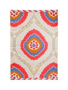 This rug is feminine, classic, colorful. This rug has it all. #hgtvmagazine http://www.hgtv.com/decorating-basics/learn-from-vern-area-rugs/pictures/index.html?soc=pinterest