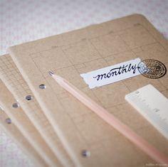 Organizer set  Reverse Engineer Your Creative Business Goals