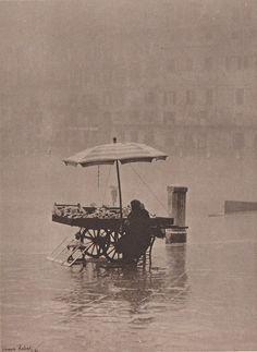 Rain on the Square by Vincenzo Balocchi