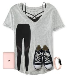 """i'm kinda close to 1,150!?"" by texasgirlfashion ❤ liked on Polyvore featuring Aéropostale, Abercrombie & Fitch, NIKE, Converse and Fitbit"