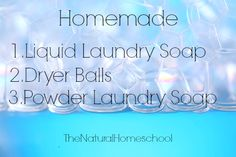 """LAUNDRY DETERGENT Click here to see the recipe I have used for years and is wonderful. Here, I have included my personal notes. Ingredients: – 2/3 bar ZOTE (1/2 cup) Note: the recipe says """"Fels Naptha or ZOTE,"""" but I looked at the ingredients and I wasn't happy with what I saw in the ingredient …"""