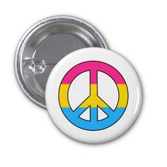 What does the symbol for the pansexual peace party mean