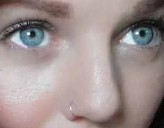 Nose Piercing Ring ~ http://tattooeve.com/nose-piercing-ideas/ Piercing