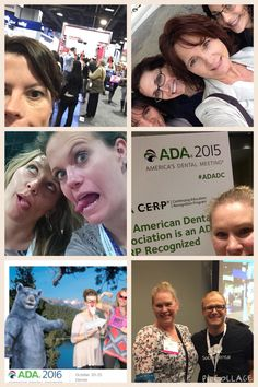 The team is learning lots of cool new things at the ADA conference. There is something for everyone here, and the whole team came today!  #teamgfd #calvertcountydentist