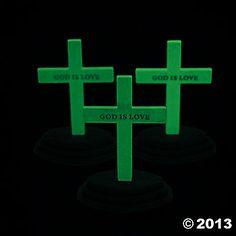 Glow-In-The-Dark Crosses