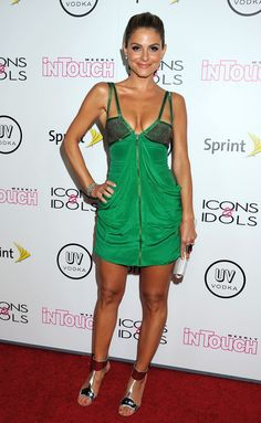 Maria Menounos Bright Nail Polish - Maria Menounos wore a vibrant, juicy orange polish on her toes at the Annual 'In Touch Weekly' Icons & Idols Celebration. Maria Menunos, Sexy Outfits, Sexy Dresses, Great Legs, Nice Legs, Film Fantastic, Kyle Jenner, Green Fashion, Celebs