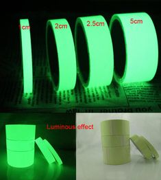 Devoted 2cm*5m Luminous Tape Self-adhesive Glowing Night /dark Safety Stage Striking Warning Safety Tape Warning Tape Back To Search Resultssecurity & Protection