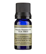 """Neal's Yard Remedies Tea Tree Organic Essential Oil, £7.20 """"This is always in my kit,"""" says beauty therapist and make-up artist Nathalie Eleni. """"It's perfect for breakouts and inflammation. For best results I apply with a two drops on a dampened cotton bud. Use essential oils sparingly as they can be potent."""""""