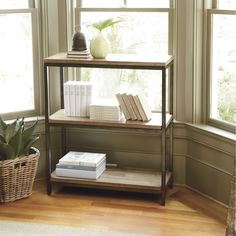 Durham Short Bookcase